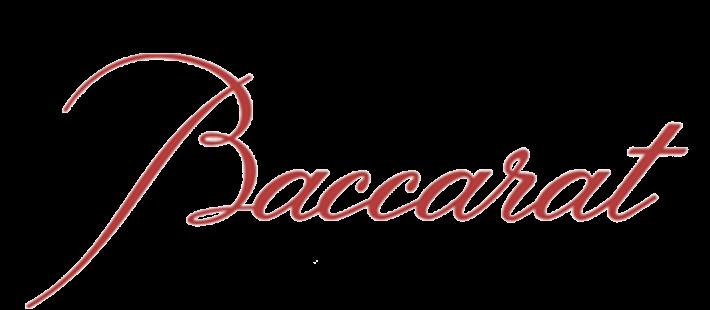 baccarat šampanjaklaasid ja -kupeed